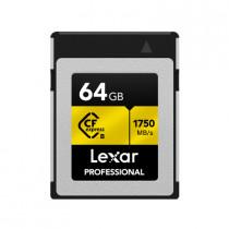 LEXAR PROFESSIONAL CFexpress TYPE B CARD 64GB (LCFX10-64GCRB)