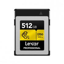LEXAR PROFESSIONAL CFEXPRESS TYPE B CARD 512GB (LCFX10-512CRB)