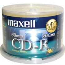MAXELL CDR 700/80 48X 50隻裝