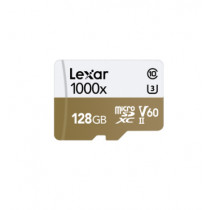 LEXAR MICROSDXC 1000X 128GB W/USB 3.0 CARD READER U3 V60 UHS-II (LSDMI128CBAP1000R)