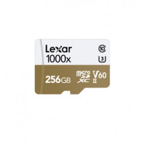 LEXAR MICROSDXC 1000X 256GB W/USB 3.0 CARD READER U3 V60 UHS-II (LSDMI256CBAP1000R)