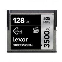 LEXAR CFAST 2.0 PROFESSIONAL 3500X 128GB (LC128CRBAP3500)