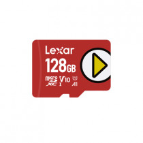 "LEXAR ""PLAY CARD"" MICROSDXC 128GB (LMSPLAY128G-BNNNG)"