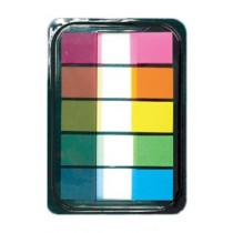 辦得事 16653 抽取式 5色標籤  (100張裝)