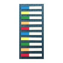 辦得事 16615 可再貼 5x2色標籤  (200張裝)