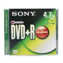 SONY DPR47 DVD+R 4.7GB/16X JEWEL CASE