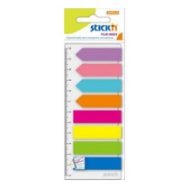 STICK'N 21346 八色可再貼標籤 (200張裝)