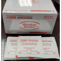 TCM ALCOHOL SWABS 酒精棉片 (200PCS/BX)