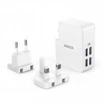 Anker POWERPORT 4 LITE 4 Ports Wall Charger