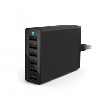 Anker POWERPORT 6 6 Ports  Desktop Charger
