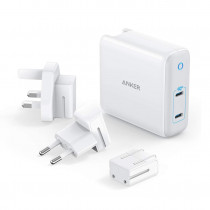 Anker  POWERPORT III  2 Port 60W Dual PD Travel Charger