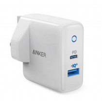 Anker PowerPort PD+2 20W PD + PIQ2.0 Wall Charger