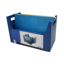 辦得事 19685 桌面文件掛袋存放架 F4 - 藍色