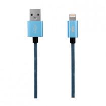 EGO MFI LIGHTNING CABLE 30CM - BLUE (ALC-0328BLUE)