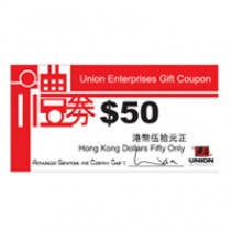 Union Enterprises Cash Coupon $50