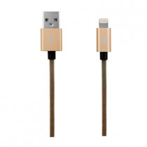 EGO MFI LIGHTNING CABLE 100CM - GOLD (ALC-1028GOLD)
