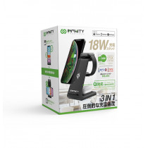INFINITY T3 WIRELESS CHARGING STATION - BLACK (IN-T3-BK)