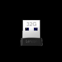 LEXAR JUMPDRIVE S47 32GB USB3.0 FLASH DRIVE (120MB/S) (LJDS47-32GABBK)