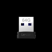 LEXAR JUMPDRIVE S47 64GB USB3.0 FLASH DRIVE (120MB/S) (LJDS47-64GABBK)
