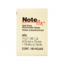 "3M Note Fix NF6 自黏告士貼 2"" x 3"""