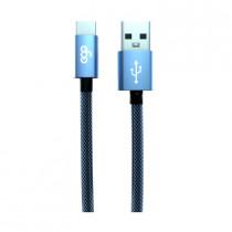 EGO 3.1A TYPE-C CABLE 200CM - BLUE (TC-2031BLUE)
