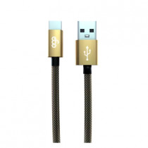EGO 3.1A TYPE-C CABLE 200CM - GOLD (TC-2031GOLD)