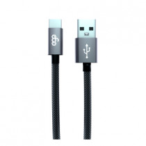 EGO 3.1A TYPE-C CABLE 200CM - GREY (TC-2031GREY)