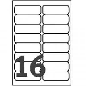 AVERY L7562-10 雷射列印專用透明郵寄標籤