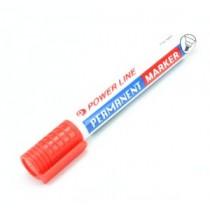 POWERLINE PM-885 方咀箱頭筆 - 紅色