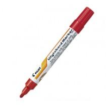百樂牌 WBMK-M 銻桿白板筆 - 紅色