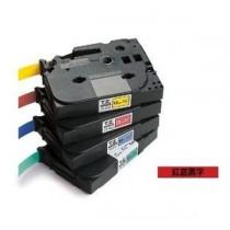 BROTHER TZe-431 12mm x 8M 特強保護層標籤帶 (紅底黑字)