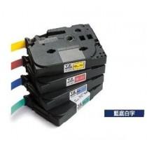BROTHER TZe-535 12mm x 8M 特強保護層標籤帶 (藍底白字)