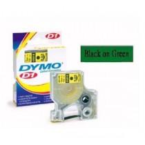 DYMO SC40919  D1 標籤帶  9mm x 7M (綠底黑字)