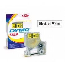 DYMO SC45013  D1 標籤帶  12mm x 7M (白底黑字)