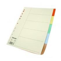 易達 44877 A4  五級彩色膠質分類索引