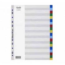 辦得事 6013 A4 二十級彩色膠質分類索引