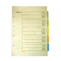 帝皇 1000S A3 五級彩色分類索引 (直放式)