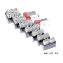 SANBY 2號 英文字母組合膠印 (6mm)