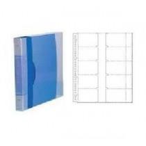齊心 SC-600 可加頁名片冊 A4 - 藍色