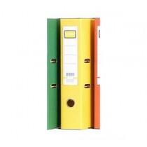 """地球牌 F4 3"""" 拱型扣文件存檔夾 - 黃色"""