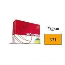 SINAR  75gsm  COPY PAPER  A4 - CYBER HP ORANGE (#371)
