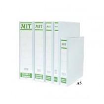 MIT  A5 2-D圈三面插咭活頁夾 25mm - 白色