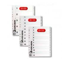 DATA BANK  ID-10  A4 膠質分類索引 ( 1-10 )