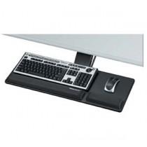 Fellowes FW8017801 高級全方位鍵盤托及滑鼠托組合