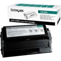 LEXMARK 12A7405 BLACK TONER FOR E321