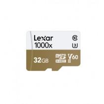 LEXAR MICROSDXC 1000X 32GB W/USB 3.0 CARD READER U3 V60 UHS-II (LSDMI32GCBAP1000R)