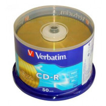 VERBATIM CDR GOLD 52X 700/80 (50PCS/SPINDLE) (41735)