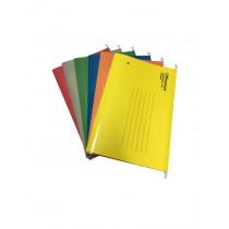 OFFICEMART 文件掛袋 F4 - 黃色