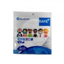 Medicom 3D 彩色立體口罩 -成人 (3 PCS/BAG)
